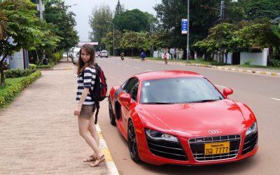 Nhiều siêu xe hàng đầu thế giới đều có mặt tại Lào.