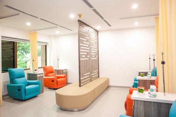 Cơ sở vật chất hiện đại phục vụ cho việc tầm soát ung thư tại phòng khám Ung bướu Singapore - Việt Nam.