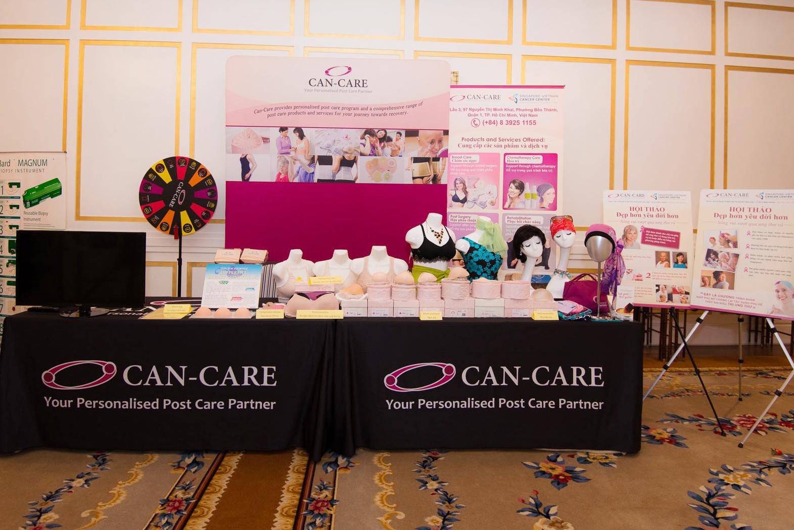 Phòng khám Ung bướu Singapore - Việt Nam (SVCC) hợp tác với Can-Care.