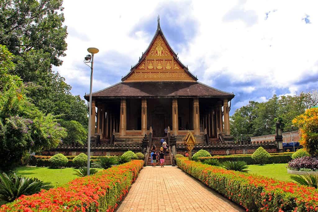 Chùa Phra Keo tại Lào.