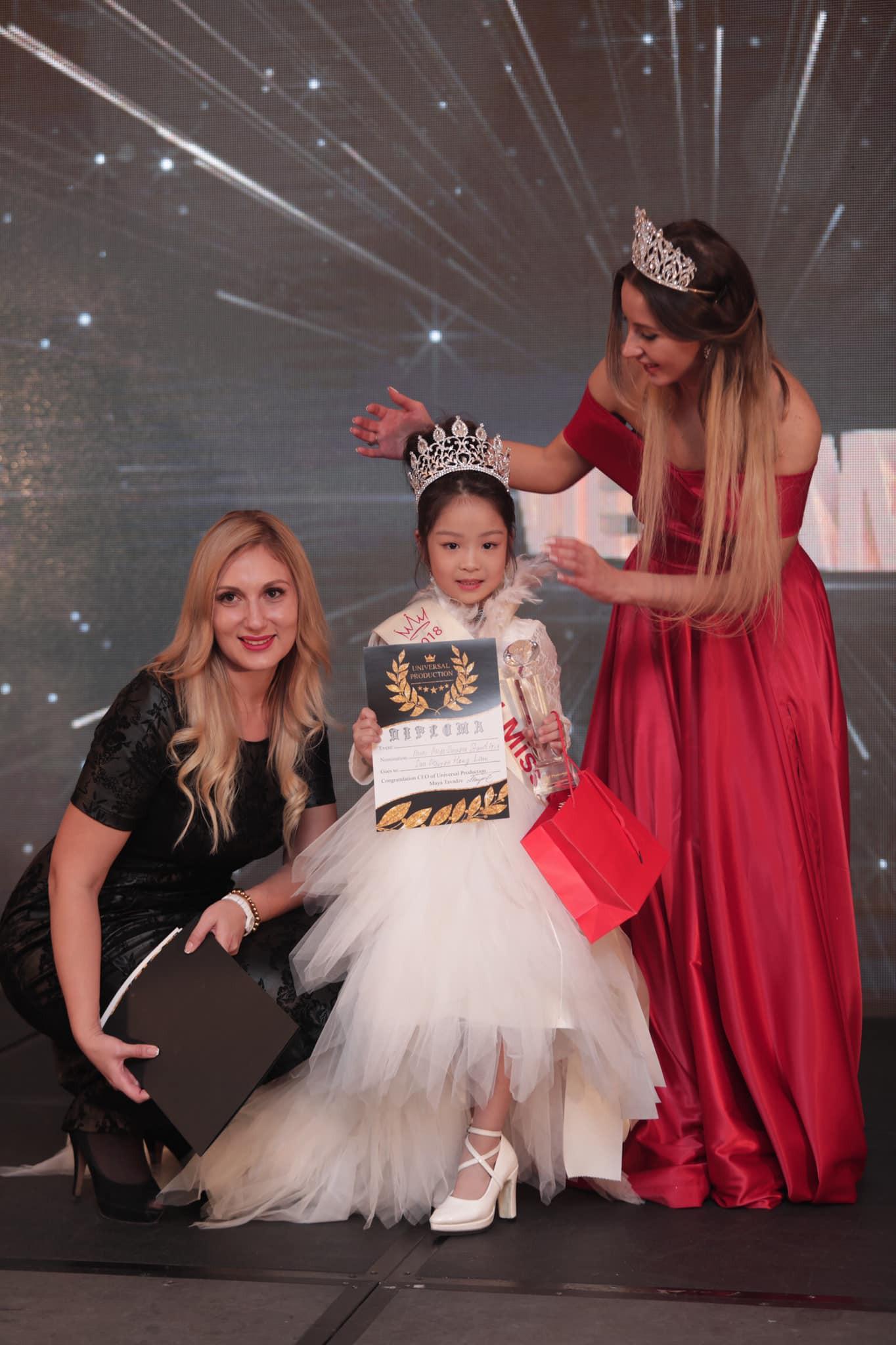 Hoa hậu nhí Á Âu Hồng Lam