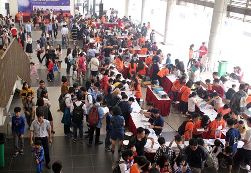 Ngày hội toán học mở tại Hà Nội.