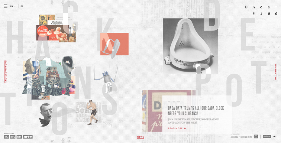 Thiết kế web 2018: Sử dụng layout gãy