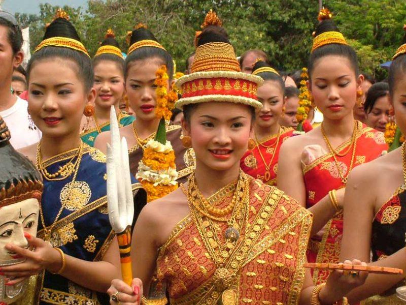 Phụ nữ Lào.