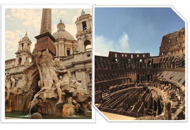 Thành Rome thời nay có 280 đài phun nước và hơn 900 nhà thờ.