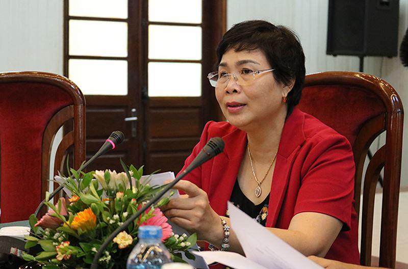 Bà Bùi Thị Minh Nga