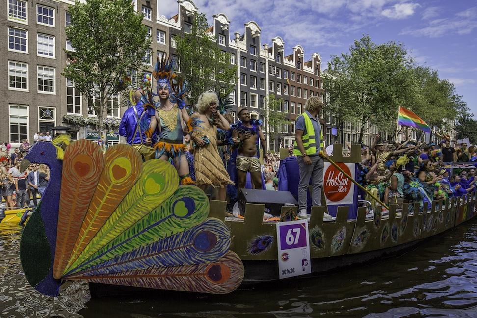 Lễ hội ở Amsterdam