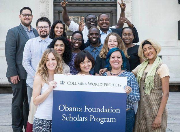 Du học sinh chào mừng quỹ học bổng Obama Foundation