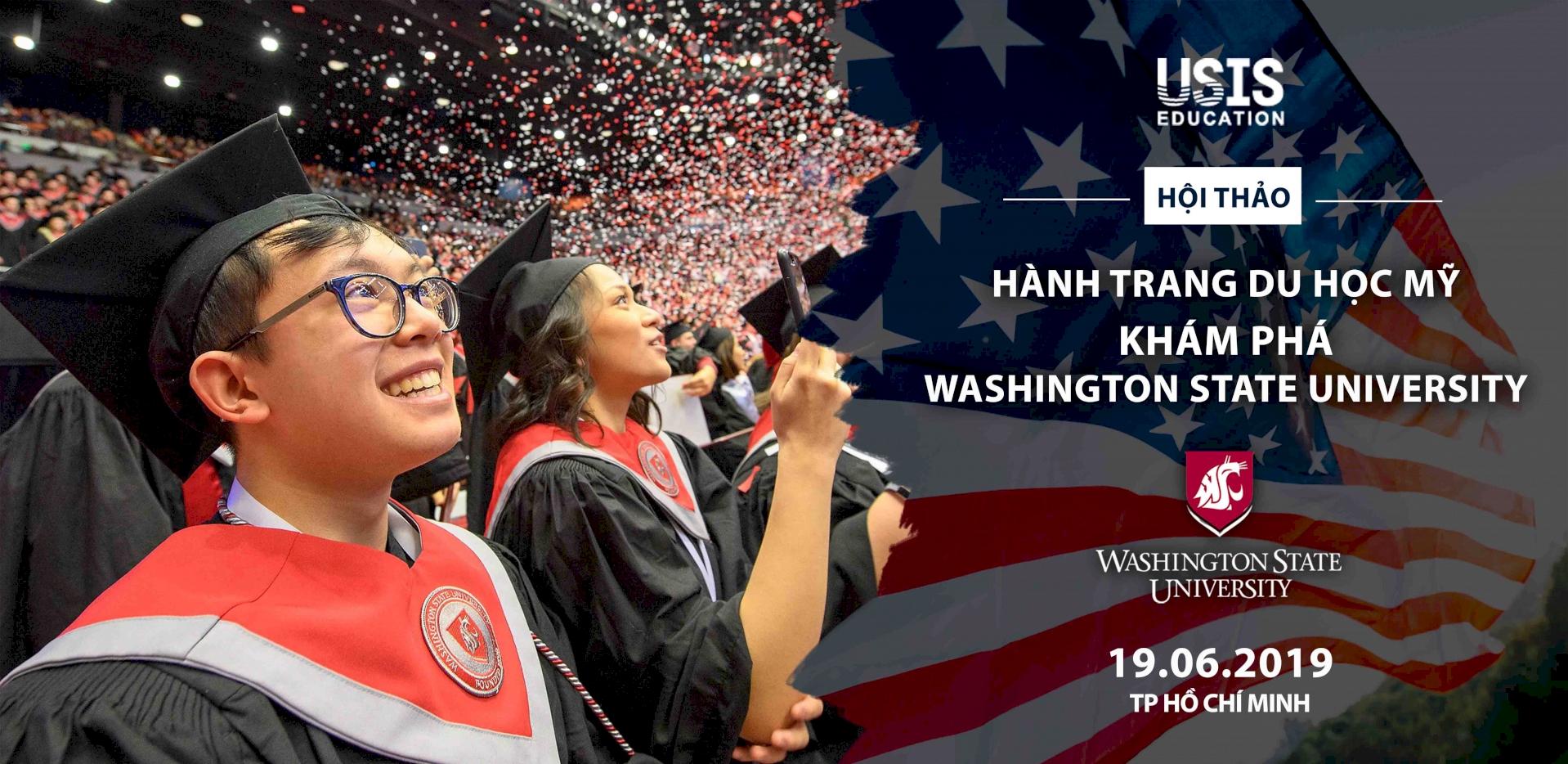Hội thảo hành trang du học Mỹ - Khám phá Washington State University
