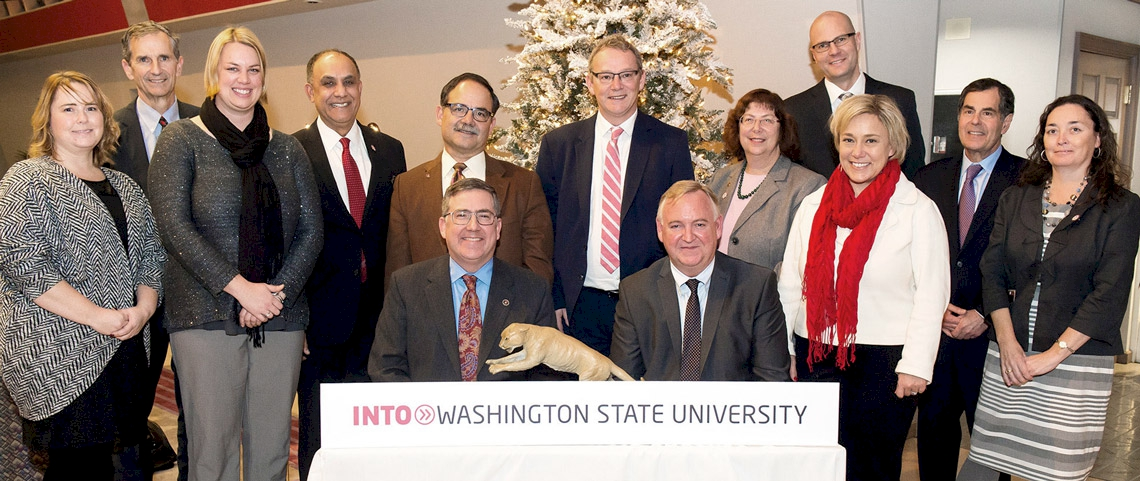 Washington State University contact team