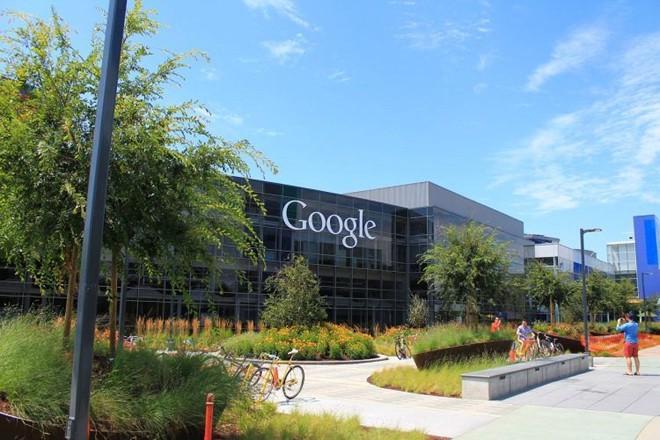khuôn viên công ty Google