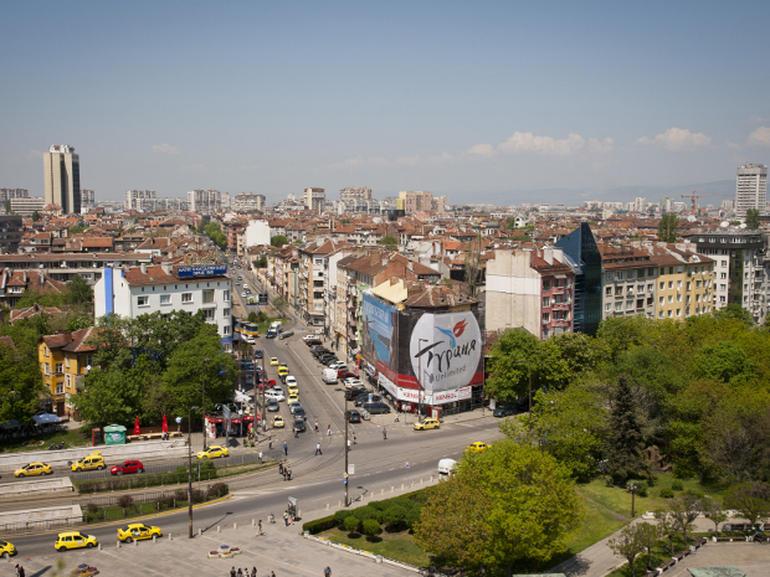 Một góc Bulgaria nhìn từ trên cao