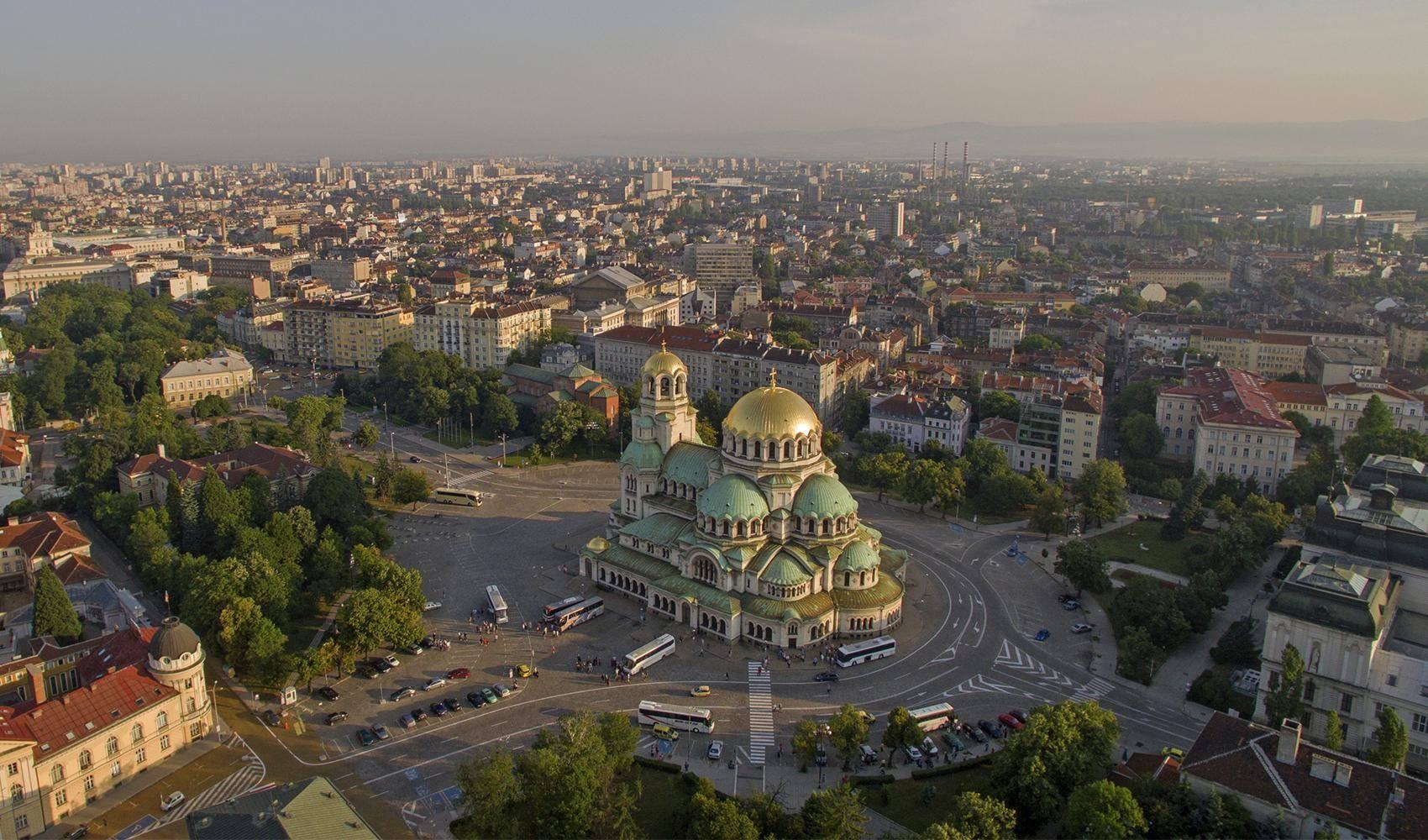 Trung tâm thành phố lớn tại Bulgaria