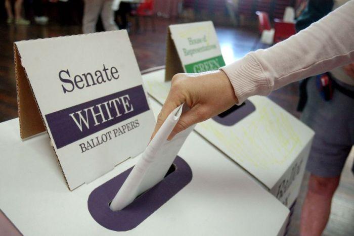Được quyền bầu cử