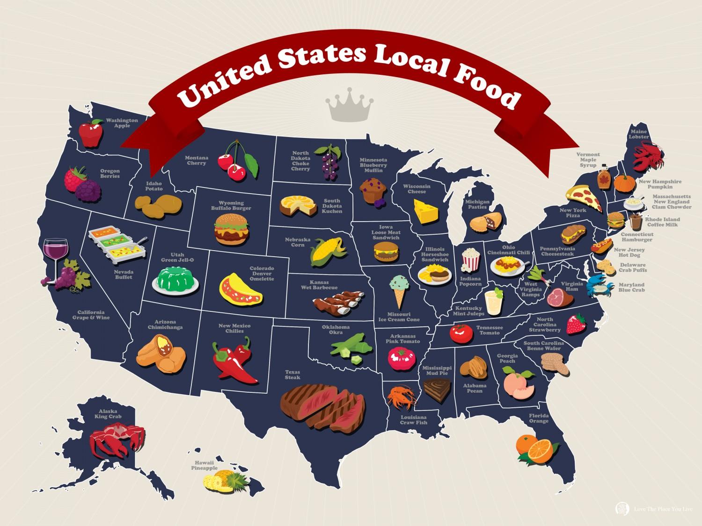 Tìm hiểu về ẩm thực Mỹ