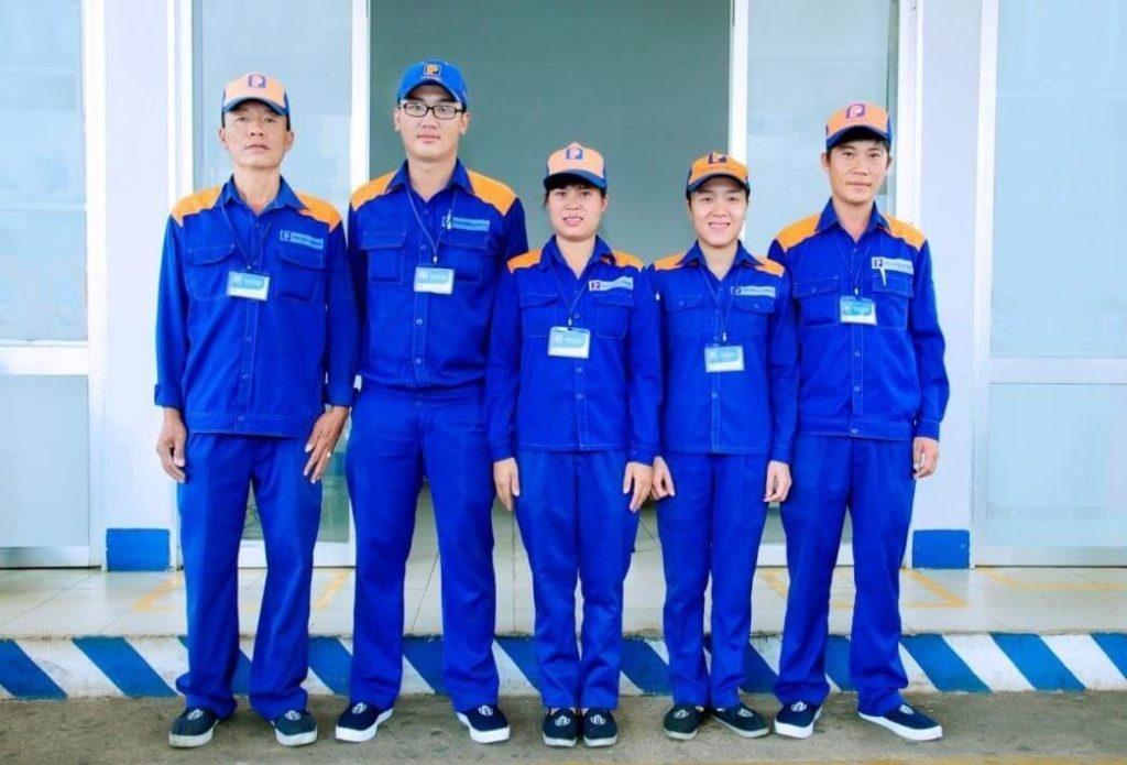 Chất liệu vải may đồng phục bảo hộ lao động