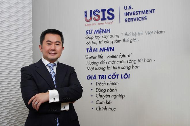 Chia sẻ của chủ tịch Usis Group Chris Lộc Đào
