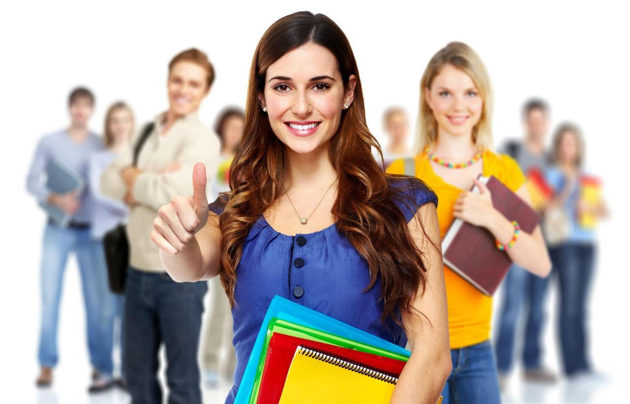 Những sinh đang theo học khóa dự bị đại học du học Mỹ
