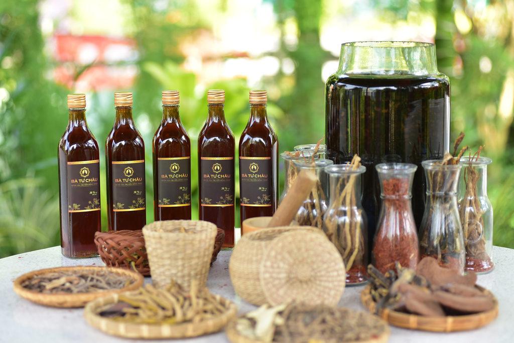 sản phẩm rượu Bà Tư Châu