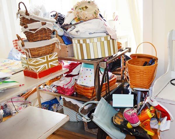 Người Nhật luôn phân loại đồ đạt theo từng phòng như phòng ngủ, phòng khách hay bếp ăn