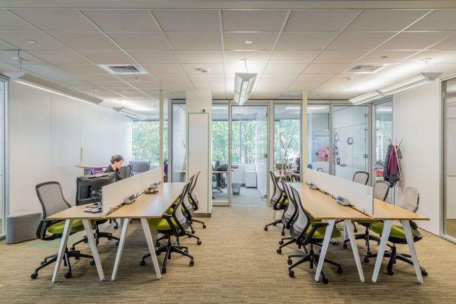 Không gian của văn phòng ảo trong trí tưởng tượng của mọi người