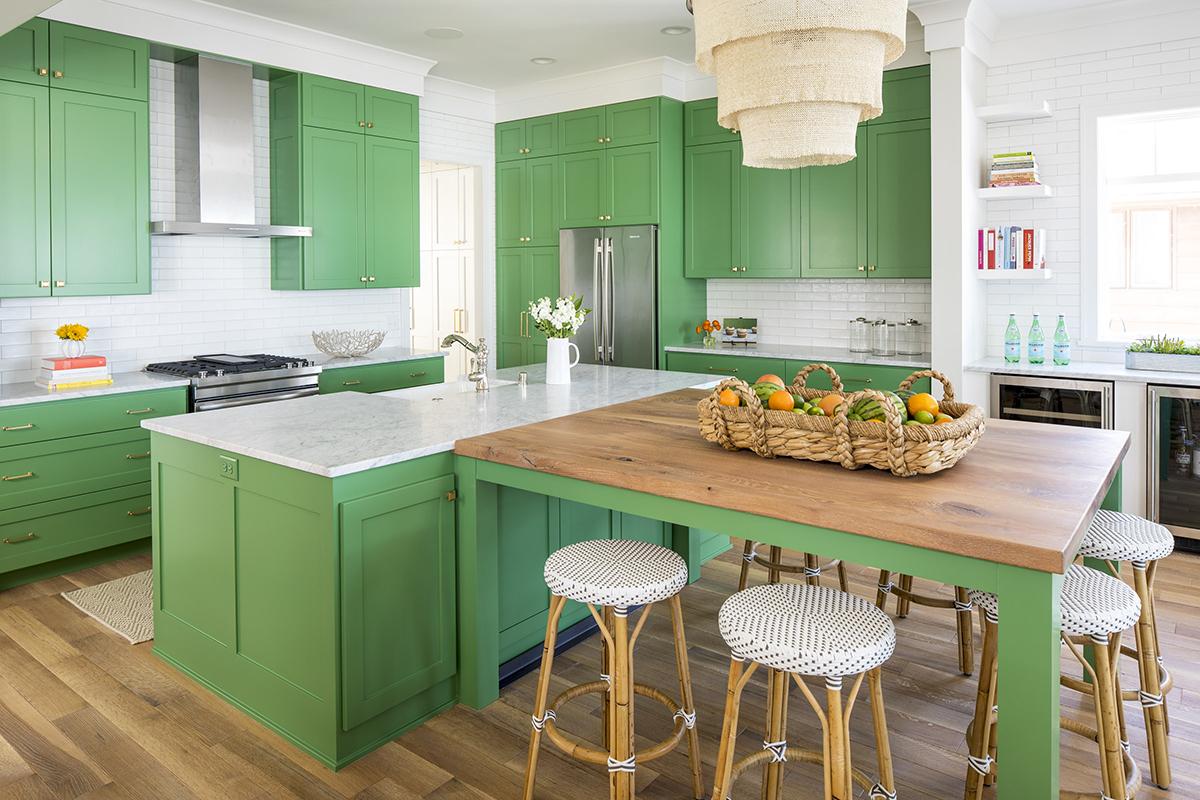 Màu sắc nhà bếp